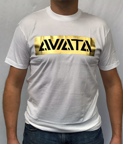 Aviata 24K Sporting Club Gold Foil Tee