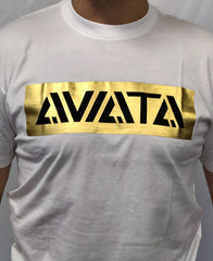 Aviata 24K Sporting Club Gold Foil T-Shirt