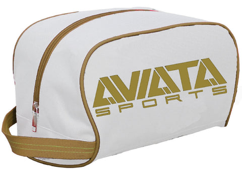 Glove Bag - Blanco y Oro Heritage