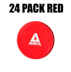 Flat Cone Training Marker 24 Pack (12 Red/12 Blue)