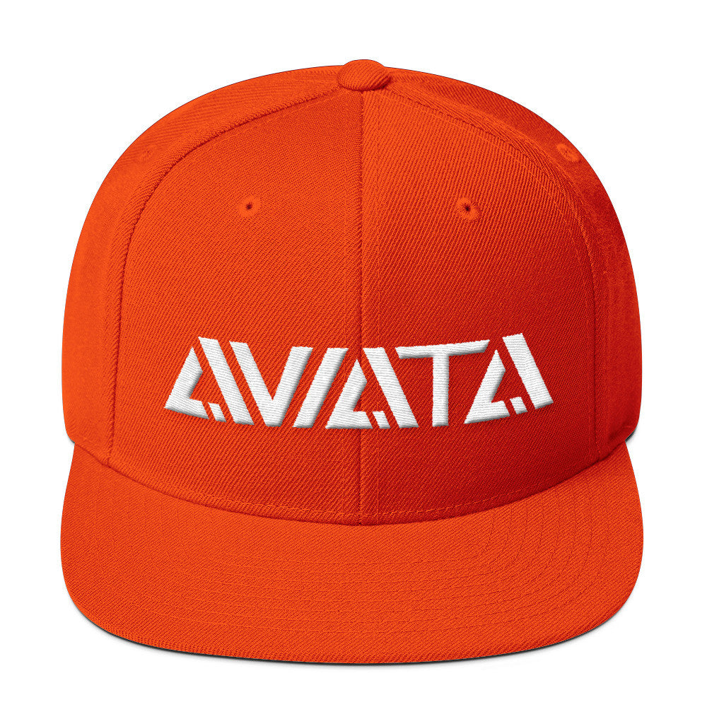 Team Aviata Snap Back Orange Blaze