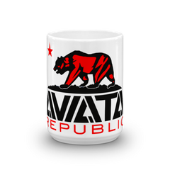 "Aviata  ""Republic"" Mug Made in USA"
