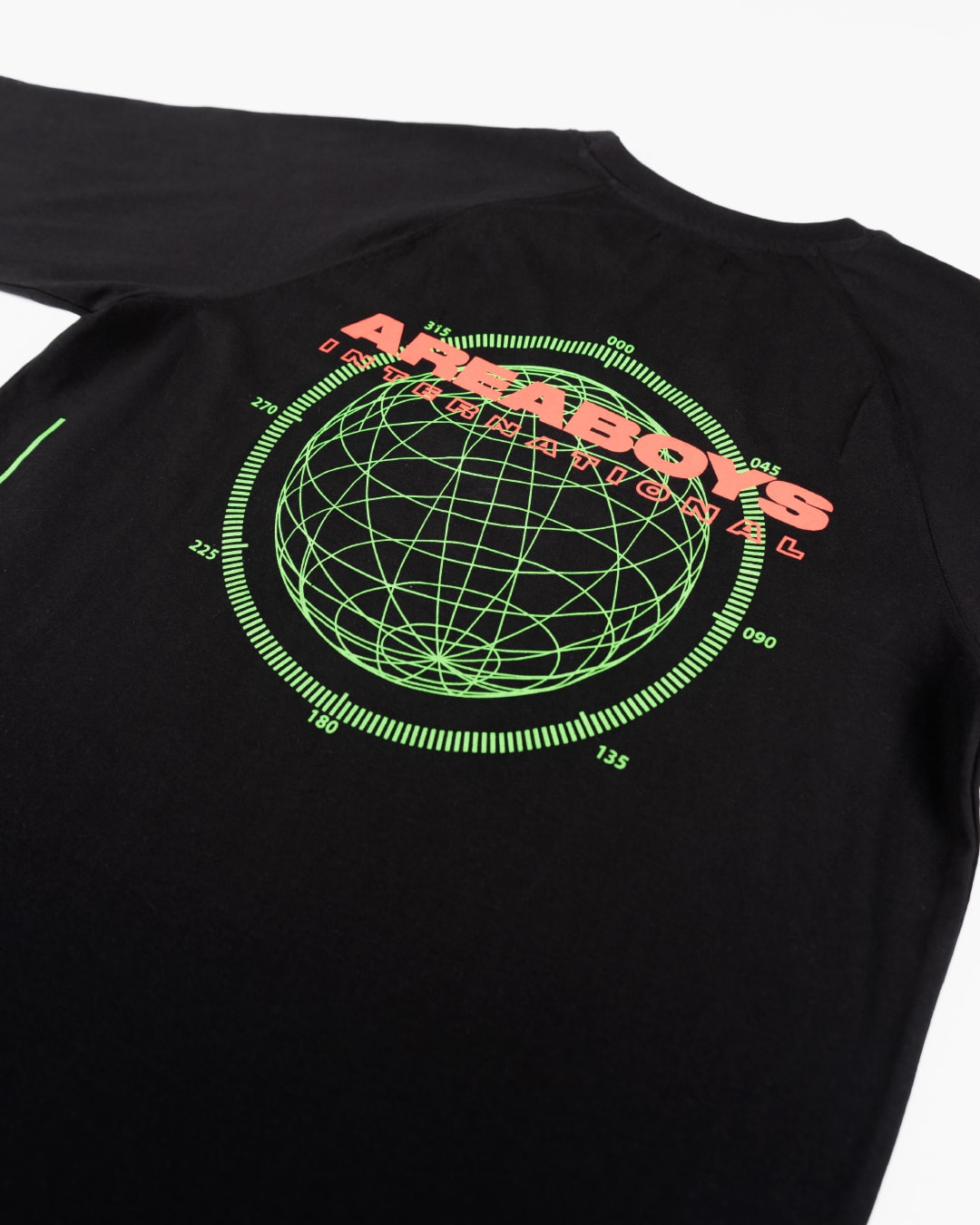 Area Boys International - Black Location T-Shirt