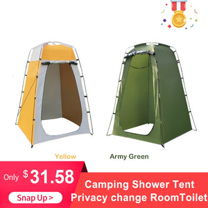 Portable Privacy Shelter With 6 FT Interior Height