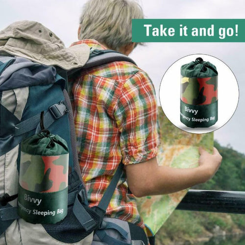Ultra Light Weight Hiking Sleeping Bag With Travel Bag