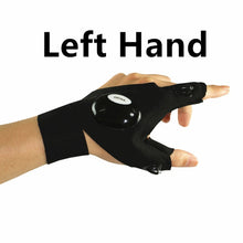 Load image into Gallery viewer, Fingerless Glove Design LED Hand Light For Right Or Left Hands