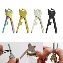 Load image into Gallery viewer, Key Chain Style  Multi Purpose Opener/Screwdriver