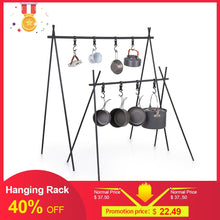 Load image into Gallery viewer, Aluminum Hanging Rack For Pots/Clothes Misc. Items Up 8KG
