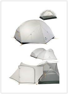 2-Person  Double Layered Ultra Light Dome Tent