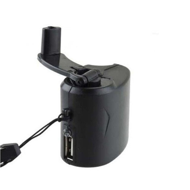 Hand Cranked Emergency USB Phone Charger