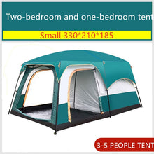 Load image into Gallery viewer, Family Sized  Cabin Tent Fits 10-16 Sleepers