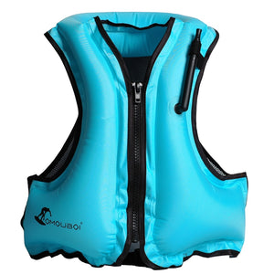 Foldable Adult Emergency Inflatable Life Vest