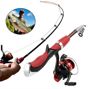 Ultra-light Telescoping Fishing Rod And Reel For Left Or Right Hand Fishing
