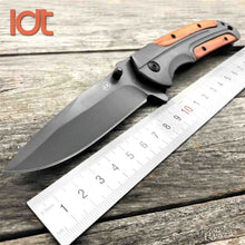 Load image into Gallery viewer, Steel handled Swivel Pocket Knife