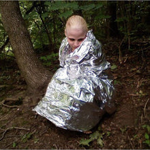 Load image into Gallery viewer, Light Weight Foil Military Type Survival Blanket