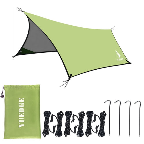 10x13Ft Foldable Rain Tarp-Instant Shelter In Carrying Bag