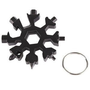Snowflake Key Ring/Pocket Multi-Tool
