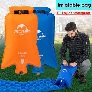 Waterproof Inflatable Dry Sack For Air Mattresses/Pads