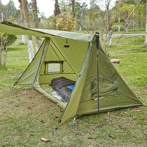 4 Season Side Open Ultralight Shelter For All Outdoor Use