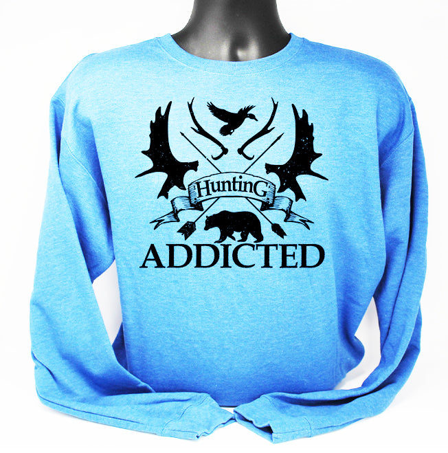 Crewneck Hunting Addicted