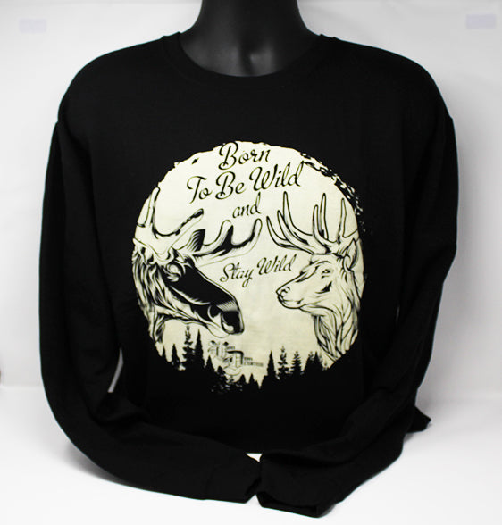 # new CREWNECK STAY WILD