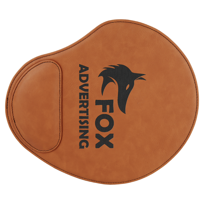 Rawhide Leatherette Mouse Pad