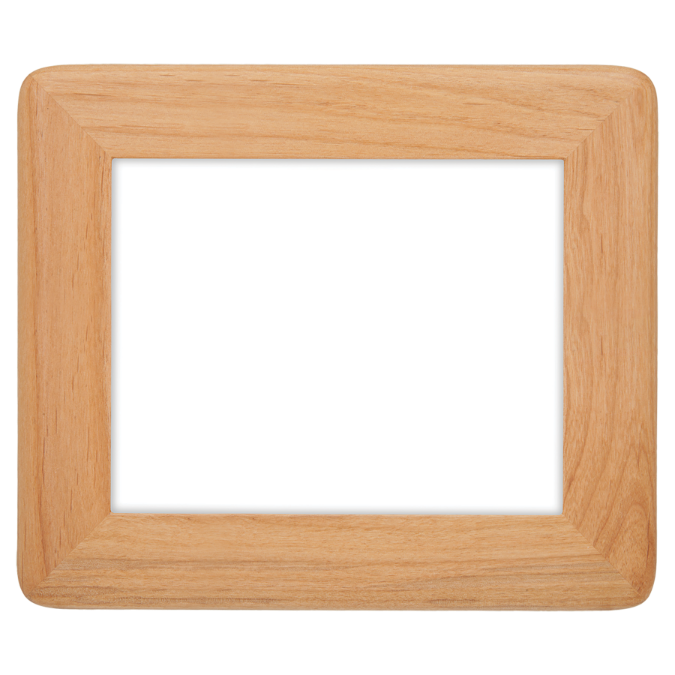 "8"" x 10"" Round Corner Red Alder Photo Frame"