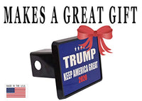 President Donald Trump Trailer Hitch Cover Plug Cover