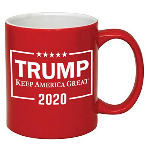 Trump Keep America Great Coffee Cup Red or White Mug