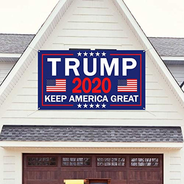"President 2020 Donald Trump Keep America Great Backdrop Banner Large, 71"" x 40"""