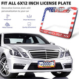 Donald Trump 2020 Make America Great Again Design Car Licenses Plate Frame