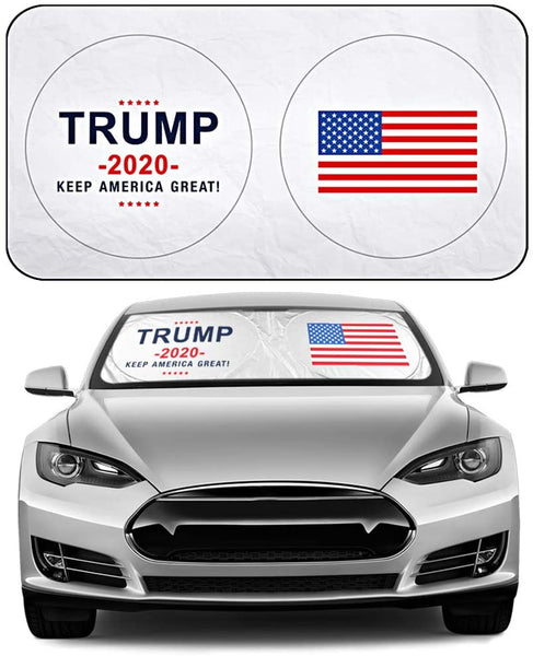 Donald Trump 2020 Windshield Sun Shades