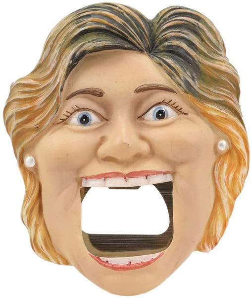Hillary Clinton Soda Beer Bottle Cap Opener Fridge Magnet