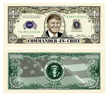 Highly Collectible Donald Trump 45th President Collectors 8 Bill Set: