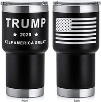 Trump Keep America Great 2020, Double Wall Stainless Steel Insulated Travel Mug