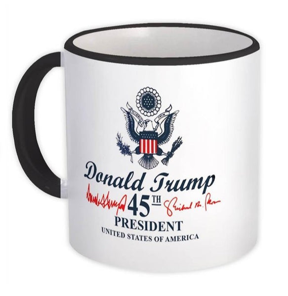 45th President Donald Trump Coffee Mug Cup