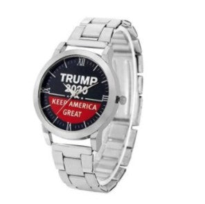 Trump 2020 'Keep America Great' Quartz Wristwatch