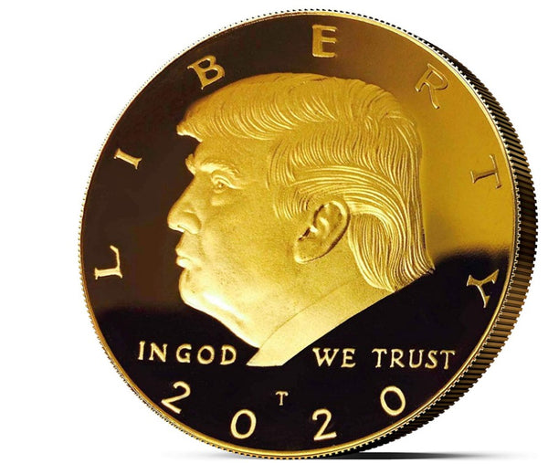 2020 President Donald Trump Gold EAGLE Commemorative Coin