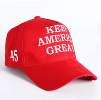 New MAGA Hat with 45 on side Trump Wears