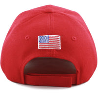 "Donald Trump 2020"" Keep America Great 3D US Flag Hat"