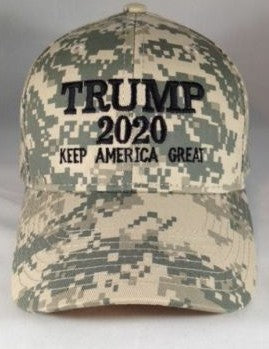 Trump 2020 Hat Digital Camo Keep America Great Hat - Digi Camo