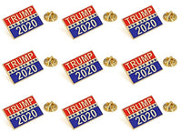 Donald Trump for 2020 President Election Lapel Pin-Pack of 12