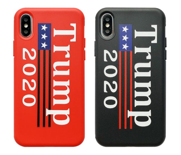 Donald Trump Election 2020 Phone Case fit for iPhone 6s 6Plus 7 8 Plus X Cover