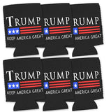 Donald Trump 2020 - Keep America Great - Can Coozie Political Drink Coolers Cool