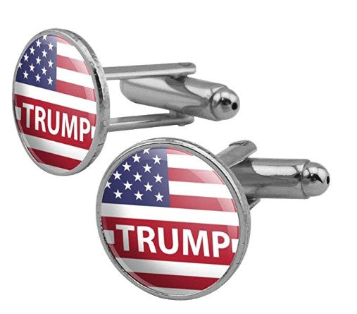 Trump Flag Cufflinks