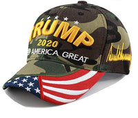 Hat Trump Wore on the Campaign Digi Camo Gold Embroidery Signature Hat 3D