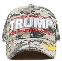 Hat Trump Wore on the Campaign Digi Camo Exclusive Signature Hat 3D