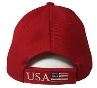 Make America Great Again 3D Embroidery American Flag Baseball Cap