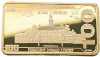 TRUMP LIBERTY $100 BULLION BAR – SUPER COLLECTIBLE