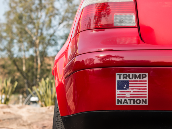 Trump Nation Bumper Sticker